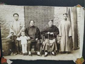 民国照片一本(45张合售)有一张开封民国时期龙亭老照片