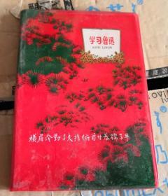 学习鲁迅 日记本/老笔记本