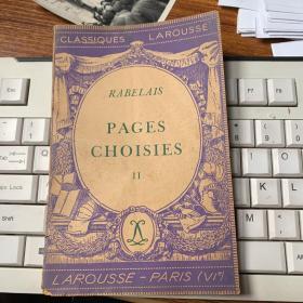 3228: 《PAGES CHOISIES    II》
