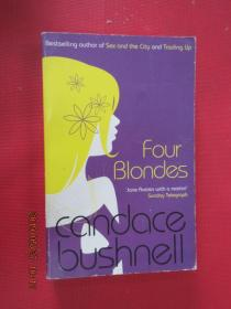 FOUR  BLONDES  CANDACE  BUSHNELL