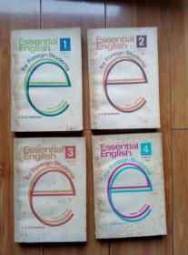 Essential English for Foreign Students book 1-4全