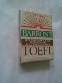 """BARRON'S. HOW TO PREPARE FOR THE .TEST OF ENGLISH .AS A FOREIGN LANGUAGE(托福""""如何准备托福考试""""。老磁带,盒装磁带2盘)"""