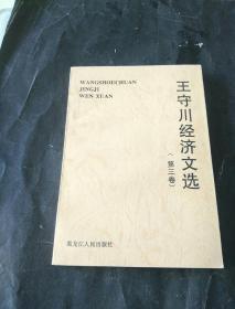 王守川经济文选【第三卷】