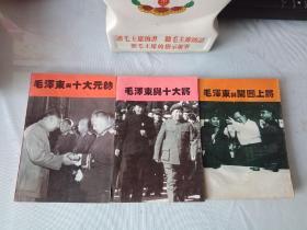 《毛泽东与十大元帅》《毛泽东与十大将》《毛泽东与开国上将》(共三册)