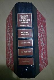 1986年英文原版读者文摘精华 精装一厚册