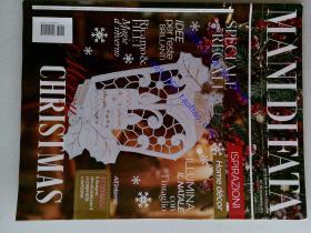 毛衣饰品编织 MANI DI FATA  2017年12月 N.12 ITALIA 外文原版装饰物杂志