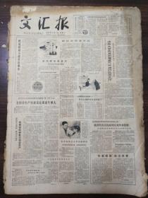 (原版老报纸品相如图)文汇报  1981年2月1日——2月28日  合售