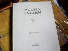 MODERN ENGLISH (BOOK ONE)(精装)(1938年出版)