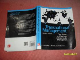 Transnational Management(跨国经营管理)16开