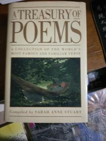 A Treasury of Poems ---a collection of the worlds most famous and familiar verse