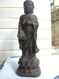 沉香木制立如来佛祖,先鉴定后买售出不退换。
