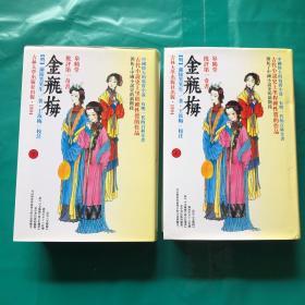 皋鹤堂批评第一奇书金瓶梅  上下册 1994年一版一印3千册  精装 有护封