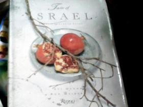 TASTE OF ISRAEL:A MEDITERRANEAN  FEAST 以色列的味道:地中海盛宴(铜版彩印,精装带护封,16开)