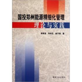 国投郑州能源精细化管理理论与实践