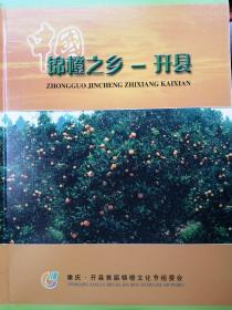 中国锦橙之乡-开县纪念邮册
