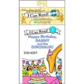 Happy Birthday, Danny and the Dinosaur! (Book + CD) (I Can Read, Level 1)生日快乐,丹尼和恐龙