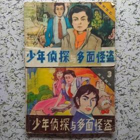 少年侦探与多面怪盗①皇冠宝石,③将计就计(2本合售)