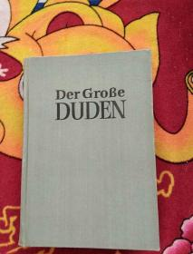 der grobe duden 4【实物拍摄】前扉页被撕