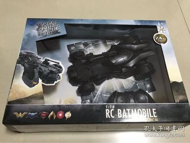 正版DC正義聯盟蝙蝠俠戰車玩具車遙控兒童仿真模型車
