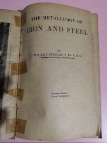 THE  METALLUGY  OF  IRON  AND  STEEL