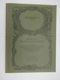 Sothebys Important Musical Instruments (苏富比重要乐器)
