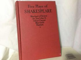 莎剧五种 Five plays of Shakespeare