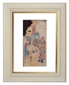 手绘《道教人物画像》移动的壁画、人物描绘栩栩如生、充满着沧桑的残缺美 8