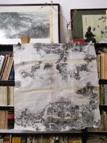 同一藏家流出 《汉郑季宣碑阴》 一大整张,有本地乡贤孙廋石题签!