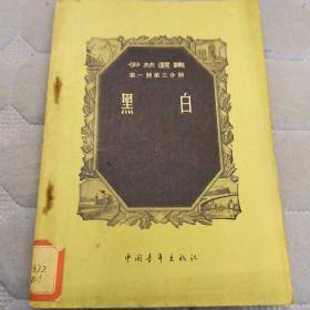 黑白(伊林选集第一册第三分册)