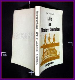 Life in Modern America 今日美国 内部交流   英文版 王蕾签名
