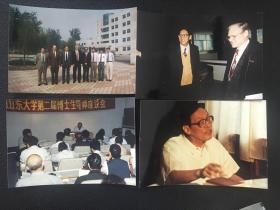 老照片:著名数学家、中科院院士、山东大学原校长潘承洞教授