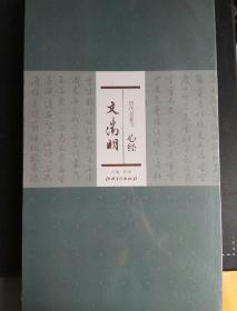 历代名家书 心经 文徽明 主编 洪亮 江西美术出版社