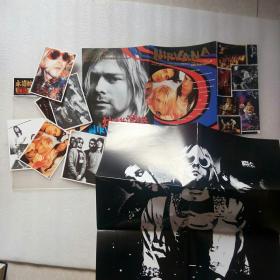 永远的激情摇滚珍藏系列(超大型海报2张加明信片)实物拍摄、请看图