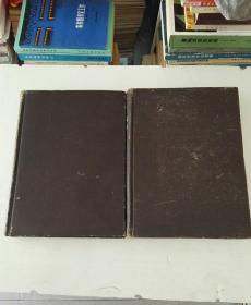 1948年民国老版书:物理评论(1948年73卷1-6期 ,7-12期)英文版  精装合订2册全