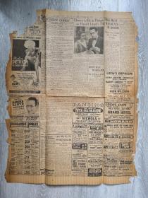 BSTON POST 波士顿邮报 9.22 1932年印