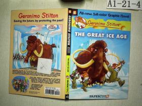 Geronimo Stilton #5: The Great Ice Age 老鼠记者5:遇上冰川巨兽 英文原版儿童读物 精装7岁以上