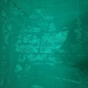 老 被面 上海第一丝织厂 194cm x 150cm 矫凤茶花 没用过 放久了有极少斑