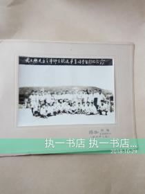 老照片【1952年,武汉大学历史系全体师生欢送毕业同学合影纪念】