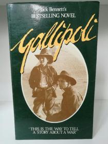 Gallipoli by Jack Bennett (澳大利亚文学)英文原版书