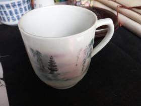 茶杯(安庆市第二毛纺厂建厂二十周年)