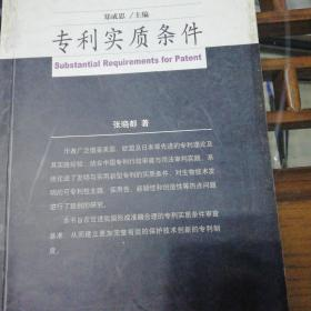 专利实质条件/知识产权专题研究丛书