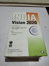 INDIA Vision 2020(外文)品相不好