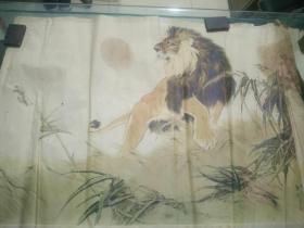 刘继卤绘狮子