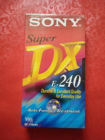 索尼录像带 SONY DX E-240 未开封