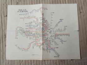 (北京)郊区公共汽车线路图、郊区长途公共汽车线路图