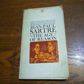 英文原版 萨特:《理性年代》 the age of reason by Jean-Paul Sartre
