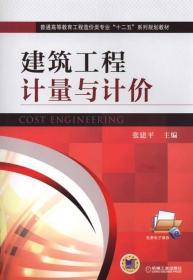 建筑工程计量与计价 正版 张建平   9787111490401