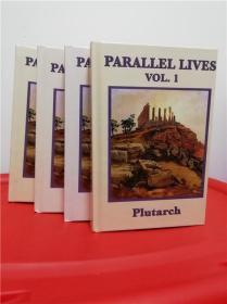 Parallel Lives (普鲁塔克《希腊罗马名人传》)全4册