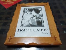 艺术木制镜框(4个合售)