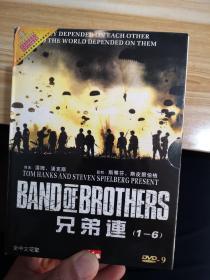 兄弟连(1-6)DVD
